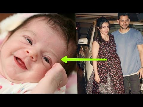 Saif's sister Soha Ali Khan blessed with a baby girl recently ! First Photo of Baby 😘