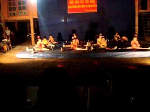 Tiết mục erobic của học sinh Trường Tiểu học Kim Đồng - Trạm Tấu - Yên Bái