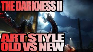 The Darkness II - Art Style Old Vs New Gameplay (Xbox 360)