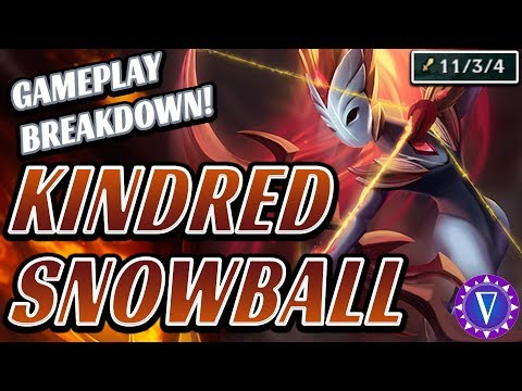 Snowballing, Splitting, & How To Beat A Scaling Enemy Team Ft. Kindred (Gameplay Breakdown)