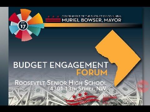 FY17 Budget Engagement Forum #1, 2/25/16