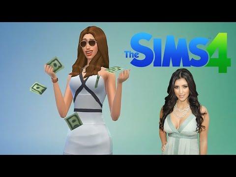 """Kim Kardashian"" (Create a Sim) ""Sims 4"""