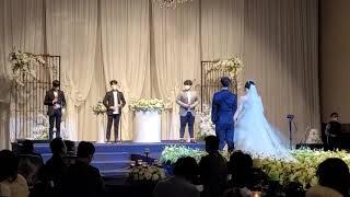 누나결혼식#고딩 남동생…