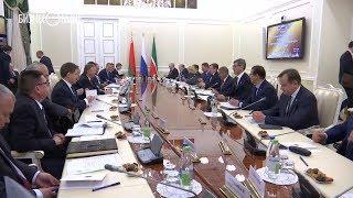 Минниханов провел встречу с делегацией Беларуси