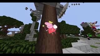 №19 (Новый скин)  Скай варс Lolotrack - Sky wars Minecraft