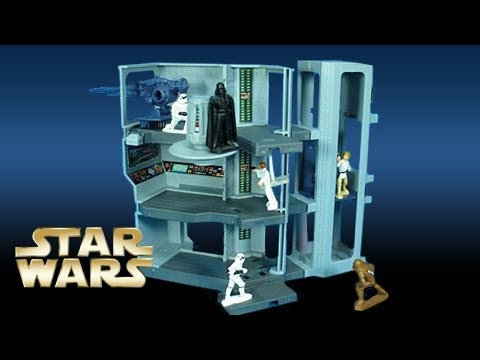 Star wars micro collection death star escape review kenner episode 1 youtube - Star wars tortendekoration ...