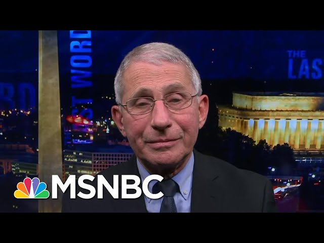 Dr. Fauci\: To Ramp Up Covid Vaccinations 'Put A Full-court Press On The Local Level'   The Last Word