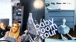BABY ROOM TOUR FT FANIS LAMPROPOYLOS & TINY WHALE | MANTO GASTERATOY