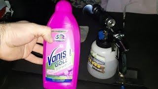 Химчистка потолка салона автомобиля без демонтажа с помощью Ваниш и Торнадор своими руками