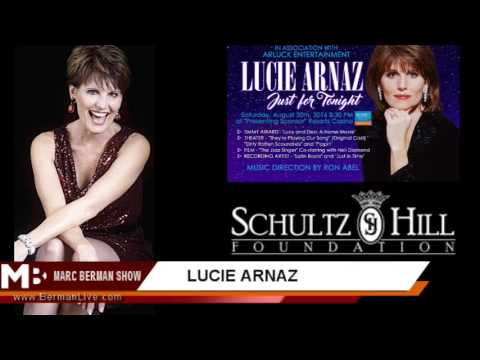 Lucie Arnaz Interview with Marc Berman
