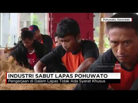 Industri Sabut Lapas Pohuwato