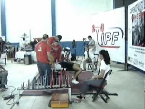 Campeonato Paulista de supino Indaiatuba Bruno D´Marchi