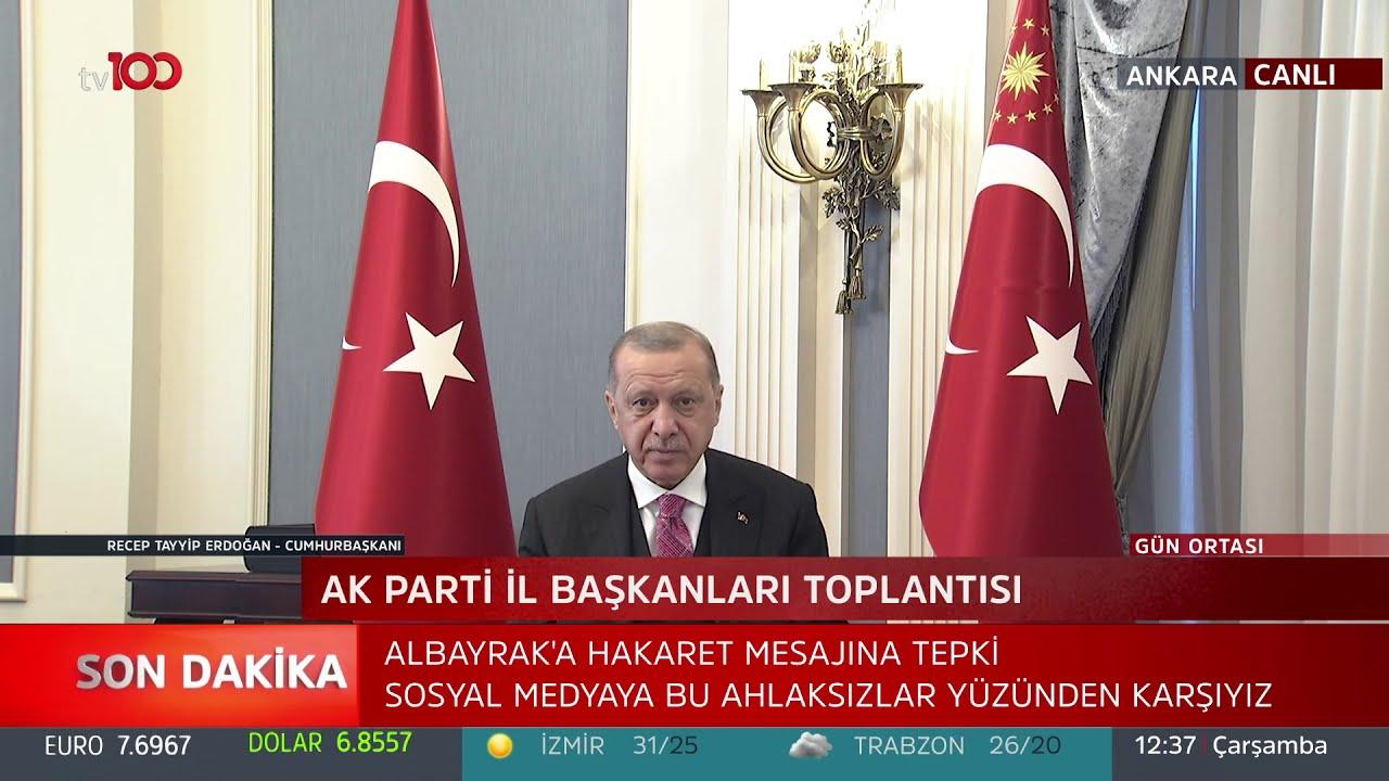 Cumhurbaşkanı Erdoğan'dan sosyal medya açıklaması