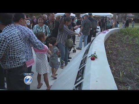 Dedication and first service held at Hawaii Law Enforcement Memorial