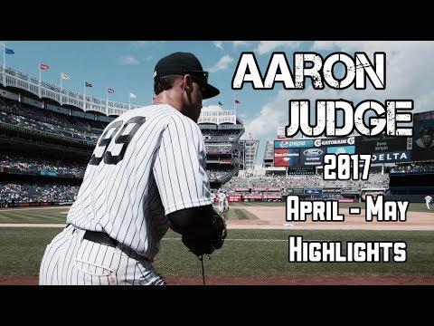 Aaron Judge | 2017 April - May Highlights | 1080p HD