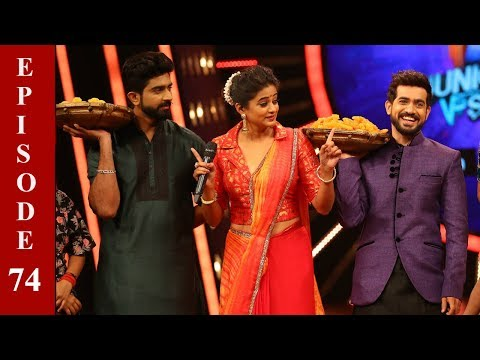 D4 Junior Vs Senior I Ep 74 - Floor in Depavali celebrations I Mazhavil Manorama