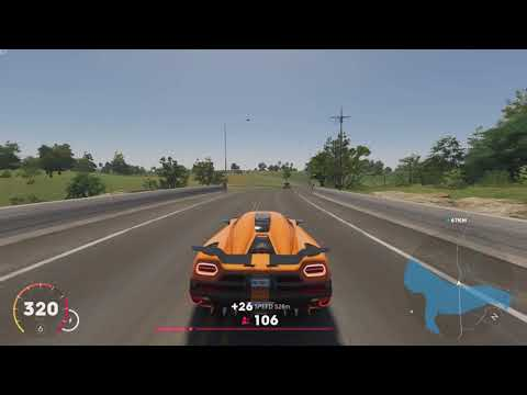 The Crew 2 - New York To Los Angeles With Koenigsegg Agera - Coast To Coast Roadtrip