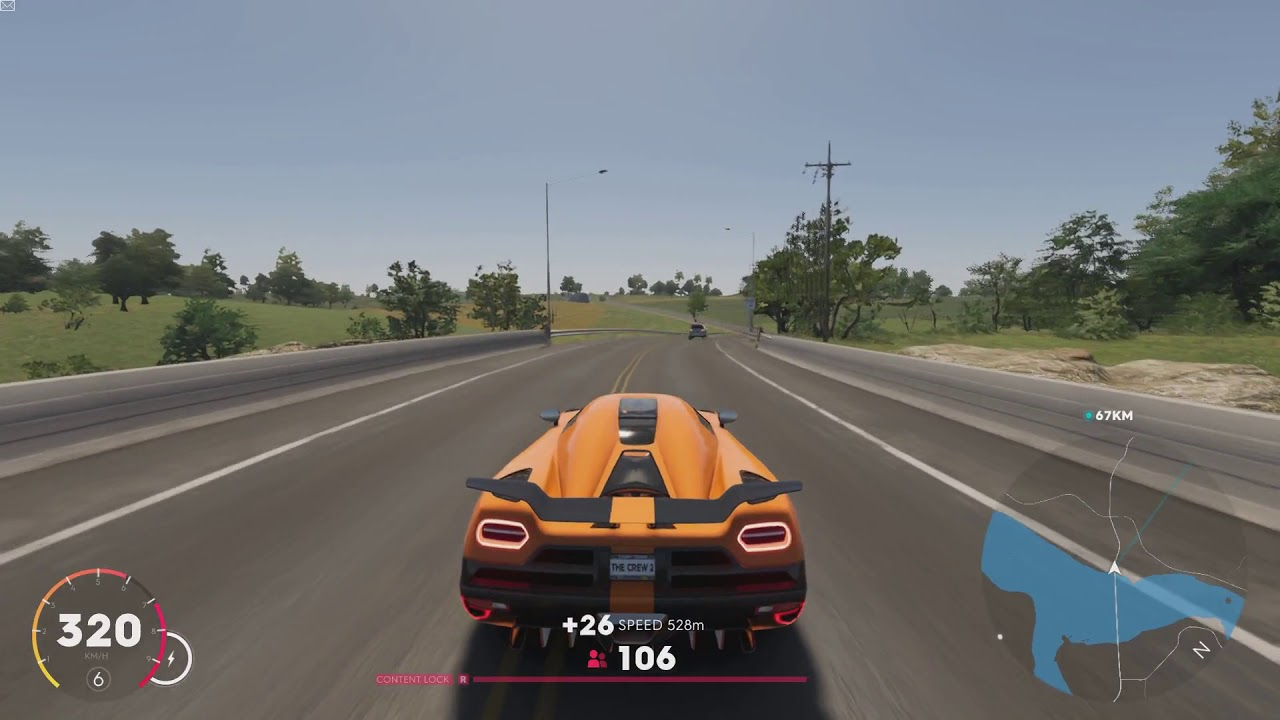 the crew 2 new york to los angeles with koenigsegg agera. Black Bedroom Furniture Sets. Home Design Ideas