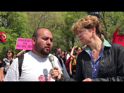 From the Field: Socialism, Immigration, and B&H Strike (May Day)