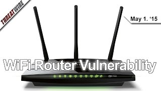 Realtek Exploit Affects WiFi Routers, Dyre Trojan Thwarts Sandboxing and more - Threatwire 56