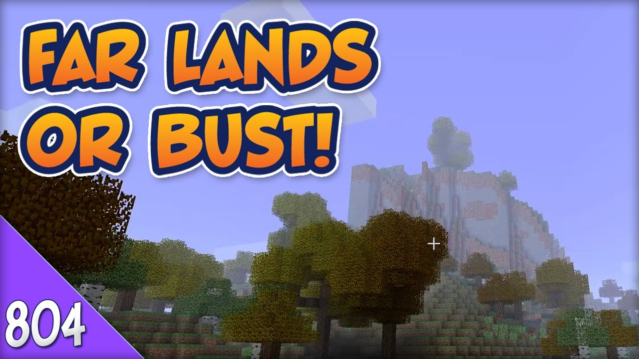 Minecraft Far Lands or Bust - #804 - Friendly Mushroom