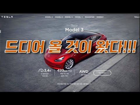 [테슬라 모델3] 드디어 론칭!! 한국에서 모델3를 구입하는 방법  (Tesla Model S)