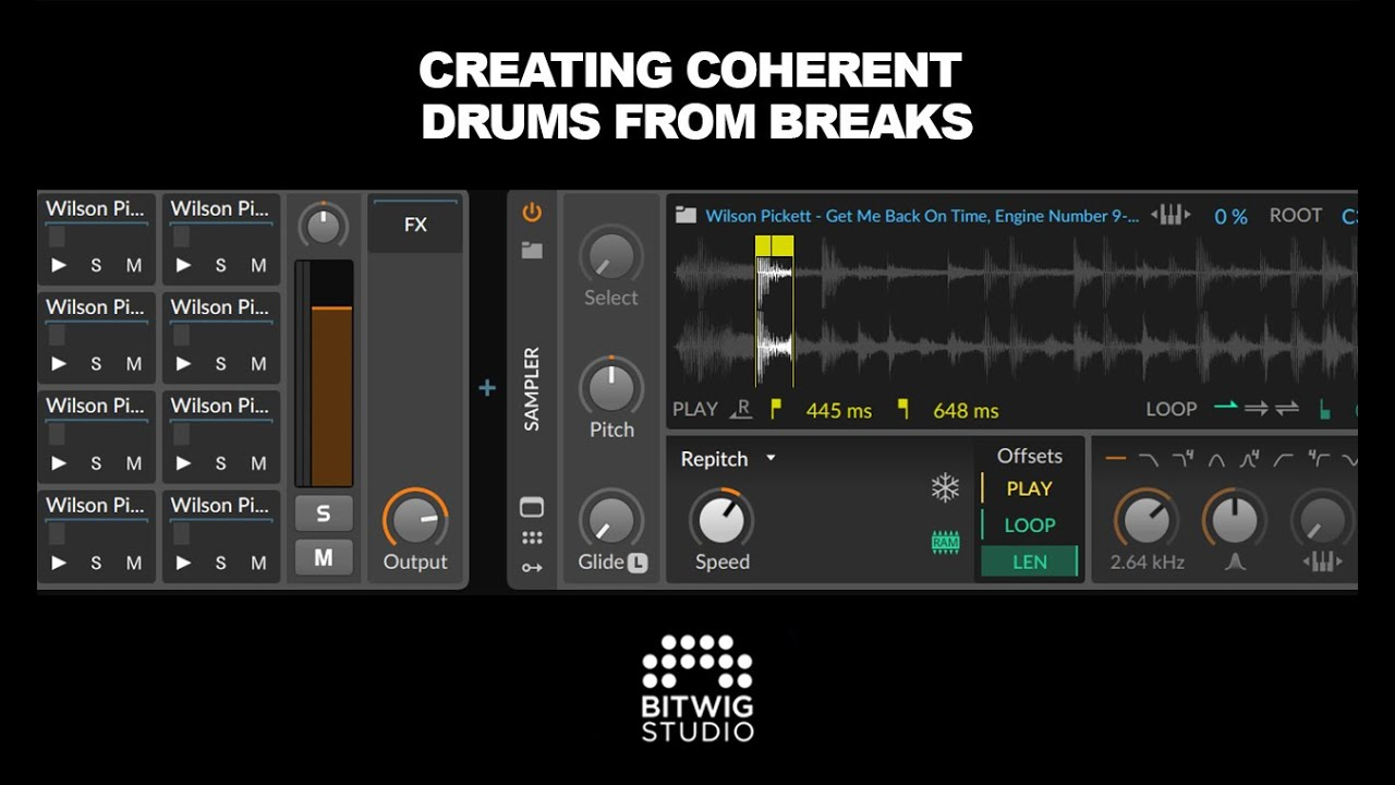 Creating Coherent Drums From Breaks