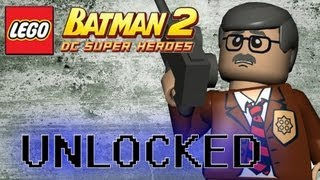 LEGO Batman 2 DC Superheroes - How to Unlock Commissioner Gordon