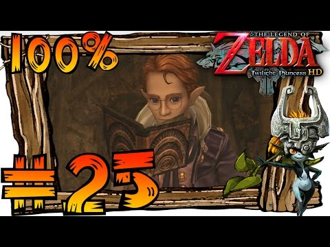 Zelda Twilight Princess HD Wii U 100% Walkthrough Part 25 | Ancient Sky Book (1080p 60fps Gameplay)