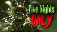 [SFM FNAF] Five Nights at Freddy's 3 - Song by Roomie
