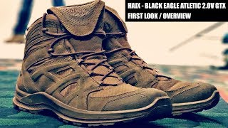 HAIX Boots - Black Eagle Athletic 2.0