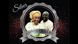 Grace & Tunji's 25th Wedding Anniversary