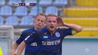 Гол! Денис Васин, 36 мин., Черноморец
