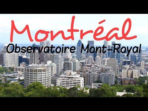 Montréal Observatoire Mont Royal