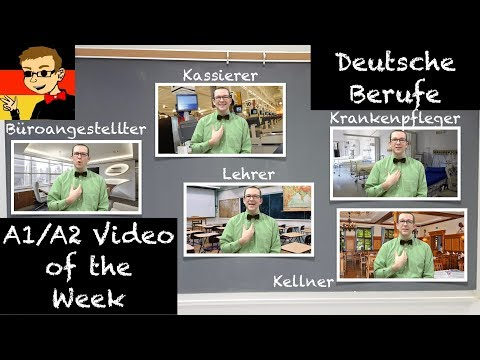 German Jobs - Learn German for Beginners A1/A2 #36 - Deutsch lernen