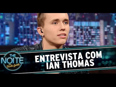 The Noite (05/09/14) - Entrevista com Ian Thomas