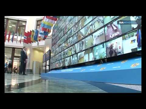 Unique Video Wall Launched by Central Election Commission