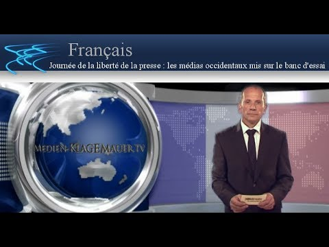 Journée de la liberté de la presse : les médias occidentaux mis sur le banc d'essai