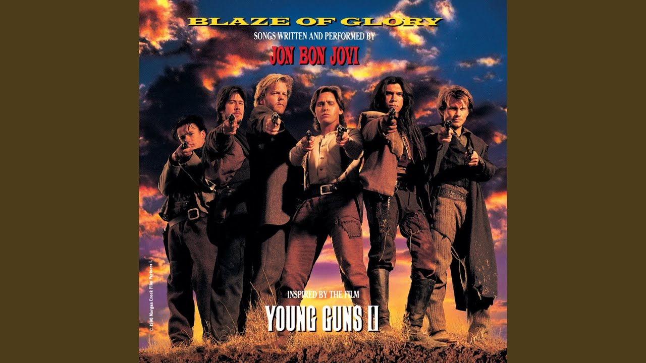 Soundtrack movie young guns ii #8