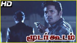 Moodar Koodam movie climax scene | Neeyum Bommai song | Naveen and friends decide to start over HD