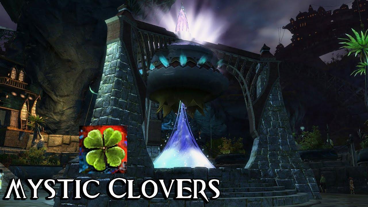 Gw2 mystic clover magic find