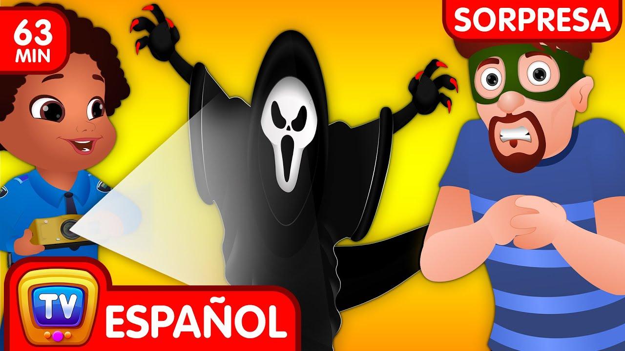 El Ataque Fantasma (Colección) | Ep. 5 | ChuChu TV Huevos sorpresas de Policías