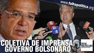 Major Olímpio concede coletiva sobre o Governo Bolsonaro após encontro com Paulo Guedes
