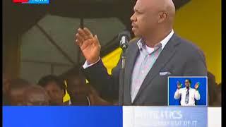 Gideon Moi want politicians to stop dragging the name of former president Daniel Moi into politics