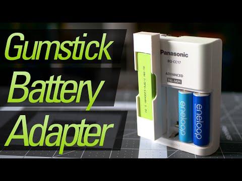 Make a Walkman Gumstick Battery Charging Adapter!