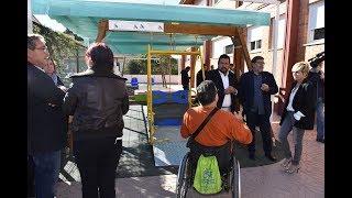 La Diputación promueve la igualdad con un Plan de Columpios Adaptados