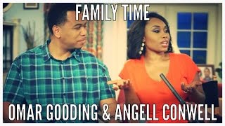 On The Set of FAMILY TIME w/ Angell Conwell and Omar Gooding
