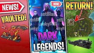 Dark Legends Pack vazou no jogo, o retorno da prisão de lama úmida, zapper Trap desativado (Fortnite News)