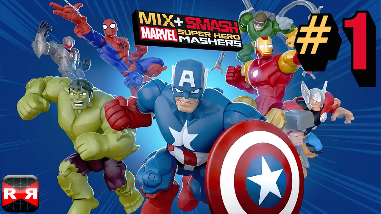 mix smash marvel