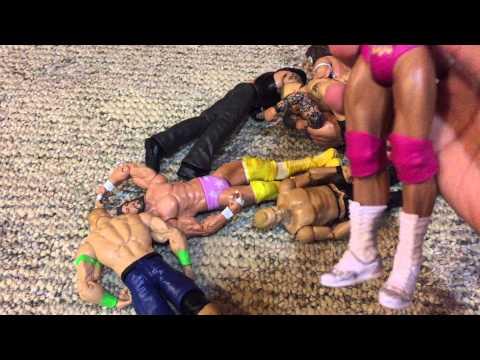 WWE figures Trade